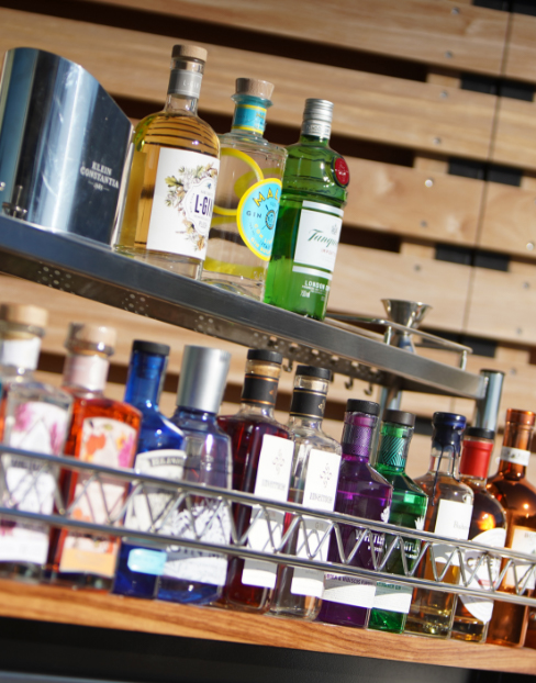 Fully Stocked Mobile Honesty Bar at Villa Lion View